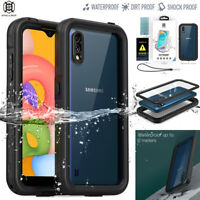 For Samsung Galaxy A01 Case Waterproof Shockproof Dirt Proof Underwater Cover