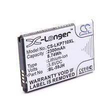 Batterie 2300mAh pour VERIZON ENACT, Lucid 2, VS870