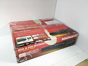 Magnavox MDR513H HDD DVR DVD Recorder OTA w/ HDMI, remote, original box