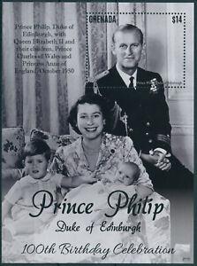 Grenada 2021 MNH Royalty Stamps Prince Philip Duke of Edinburgh 100th Bday 1v SS