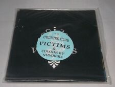 """Culture Club:  Victims  1983  UK   STUNNING NEAR MINT   7"""" in Poster sleeve"""