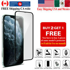 For iPhone SE 12 11 Pro XR X XS Max 8 7 6 5 Plus Tempered Glass Screen Protector