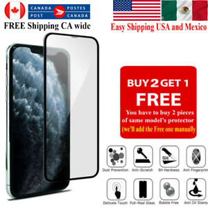 For iPhone SE 13 12 11 Pro Max XR X XS 8 7 Plus Tempered Glass Screen Protector