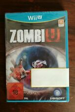 Nuevo!! Wii U Zombiu PAL