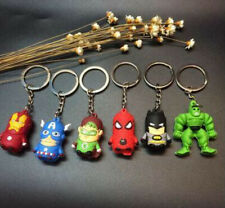 Keyrings Superman Batman Spiderman Iron Man Green Lantern Hulk Captain America