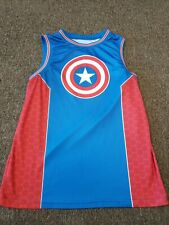 Captain America Basketball Jersey Mens Large Comic Book Marvel Free Shipping