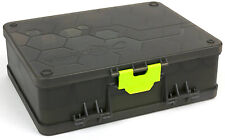FOX MATRIX DOUBLE SIDED FEEDER & TACKLE BOX CARP FISHING ACCESSORY GBX001