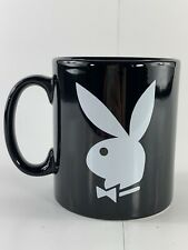 Playboy Bunny Logo Rabbit Head Design Black White Coffee Mug New