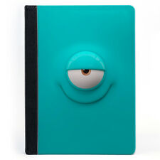 Funny Smile Cute Blue Ciclop Minimalist Tablet Leather Case Cover