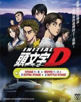 INITIAL D ~(Stage 1 - 6 Final Stage + Extra & Battle Stage + New Legend 123) ~