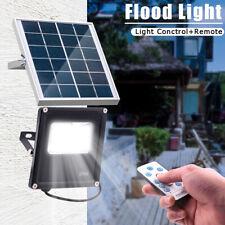 20W 20LED Solar Flood Light Outdoor Garden Street Path Lamp W/ Remote