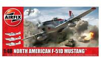 Airfix North American F51D Mustang  1:48 Scale Plastic Model Kit A05136