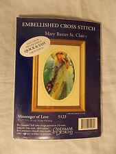 Embellished Cross Stitch Kit Candamar Messenger of Love Angel 5123