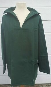 Cornish Fisherman's Smock, Extra Large, Forest Green