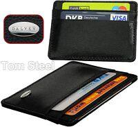 DALVEY Kartenetui Leder - Kreditkartenetui - Titolare della Carta di Credito NEU