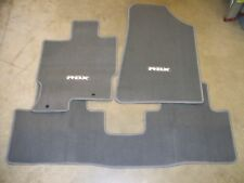 Genuine OEM 2007-2008 Acura RDX Gray Carpet Floor Mats Set