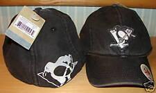Reebok Pittsburgh Penguins 2009 OOB II Hat Cap S/M NHL