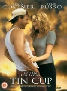 Tin Cup Dvd Kevin Costner Brand New & Factory Sealed (1996)