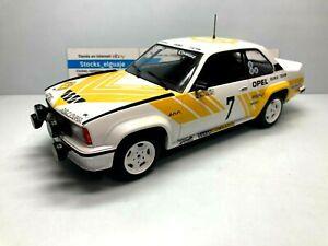 IXO ALTAYA 1/18 OPEL ASCONA 400 RALLY SUECIA 1980 ANDERS KULLANG MINIATURE CAR