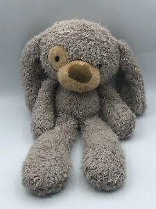 Official Gund Fuzzy Dog 320597 Grey Puppy Plush Kids Soft Stuffed Toy Animal