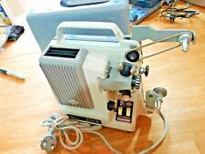 VINTAGE BAUER T10R Regular 8 Film Projector With Case