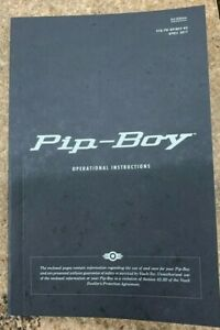 FALLOUT 4 PIP-BOY OPERATIONAL INSTRUCTIONS  NEW  PIP BOY BETHESDA