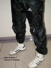 Adidas like cal surf Shiny nylon trousers trackies WETLOOK brillo pantalones de deporte M = 48