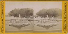 Versailles France Stereo Vintage albumine ca 1875
