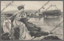 ANDREA DORIA 05 VARO LA SPEZIA 30 marzo 1913 NAVE NAVIGAZIONE MARINA SHIP viagg.