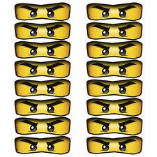 16 X Lego Ninjago Ojos Pegatinas Para Globos, Bolsas, Platos, Decoraciones