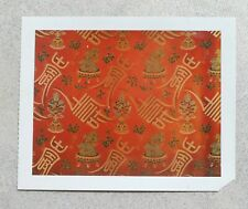 "Vintage 1980s 4x5"" polaroid of Chinese tapestry"