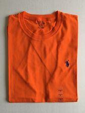 NWT Men's Polo Ralph Lauren SS Crewneck Classic Fit T-Shirt Orange - Large