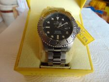 Invicta Pro Diver 47mm Invicta Black Carbon Fiber Dial Stainless Steel Watch