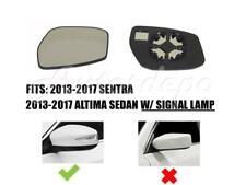 Mirror Glass LH Driver For NISSAN ALTIMA SDN 2013-2017