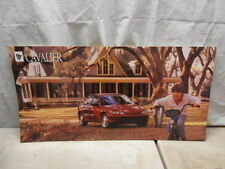 1997 Chevrolet Cavalier Sedan Dealer Showroom Display Dealership Sign Poster
