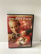 Jet Li's Fearless Unrated Edition (DVD 2006) Jet Li, Li Sun