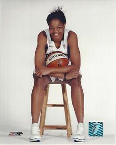 ALANA BEARD 8X10 WNBA LICENSED LOGO COLOR PHOTOGRAPH LA SPARKS MYSTICS DUKE
