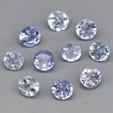 1.9mm 10pcs Lot Round Natural Violet Blue Tanzanite, Tanzania