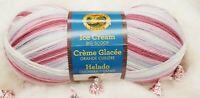 Lion Brand ICE CREAM BIG SCOOP Yarn ~ CHERRIES JUBILEE ~ New Skein 1117 yards