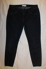 HABITUAL skinny very stretchy ankle  capri  MIDNIGHT dark wash designer jeans 32