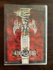 King Of The Ring 2000 - WWE DVD - RARE- WWF