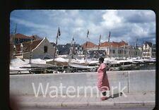 1957  kodachrome Photo slide Curacao #2   CC11