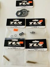 TLR 22 Motor Plate, Axle, Shock Bottom Caps, Hinge Pins, Part Lot / Losi
