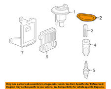 Hummer GM OEM 2006 H3 3.5L-L5 Ignition-Ignition Module Seal 88958974