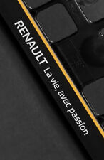 2 x Renault Euro License Plate Frame