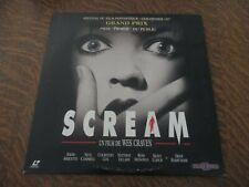 laserdisc scream un film de WES CRAVEN