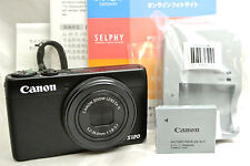 Canon Powershot S120 12.1MP Point & Shoot camera *black *mint *tested