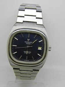 Watch Tissot Seastar Quartz Cal 2030 To 1970 Vintage Tissot With Box