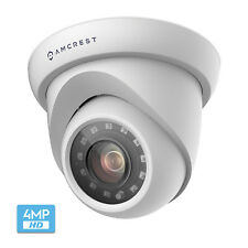 Amcrest UltraHD 4MP Outdoor Camera Dome (AMC4MDM28P-W)