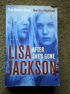 After She's Gone by Lisa Jackson (Paperback, 2016)